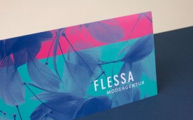 FLESSA MODEAGENTUR Invitation // designed for www.aignerboettcherdesign.de