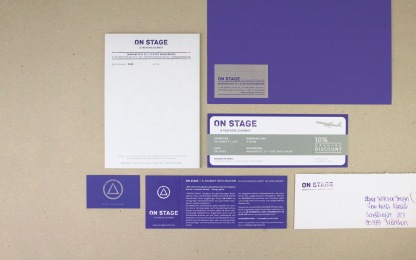 ON STAGE Corporate Identity // designed for www.aignerboettcherdesign.de