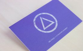 ON STAGE Business Card // designed for www.aignerboettcherdesign.de